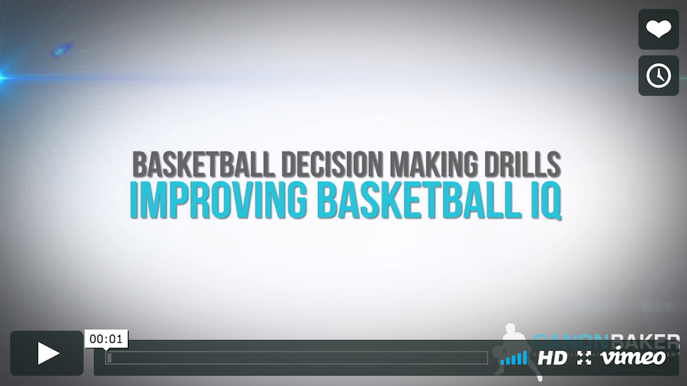 Decision Making Basketball Drills